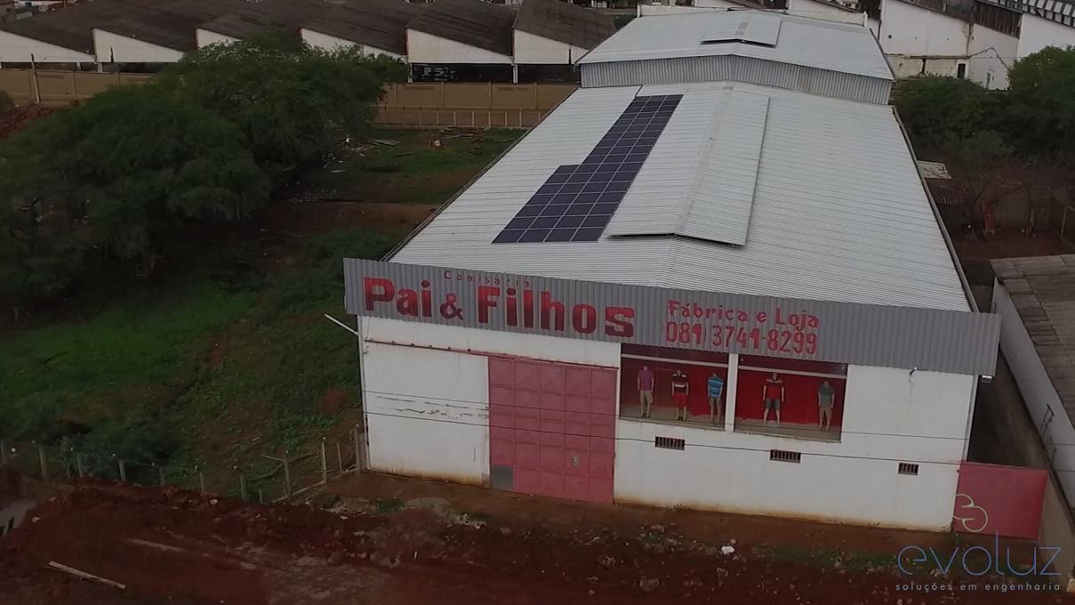 Pai & Filhos Confecções em Taquaritinga do Norte-PE tem 15,08 kWp