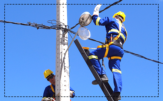 São Caetano dá início aos serviços de Iluminação Pública no Projeto: LUZ PARA AS CIDADES EM AÇÃO!