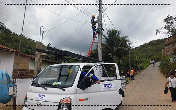 CONIAPE acompanha início dos trabalhos da Real Energy em Taquaritinga do Norte