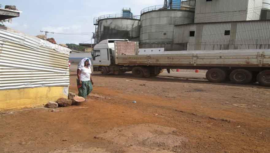 Reportage à Conakry : Le calvaire des habitants de la Cimenterie…