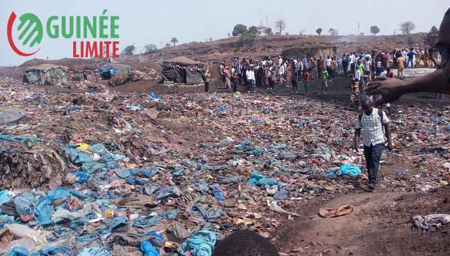 Guinée : la décharge de la minière sera-t-elle délocalisée ?