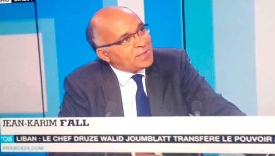 Nécrologie :  Le Chef du service Afrique Rfi et rédacteur en chef de France 24, Jean Karim Fall n'est plus!