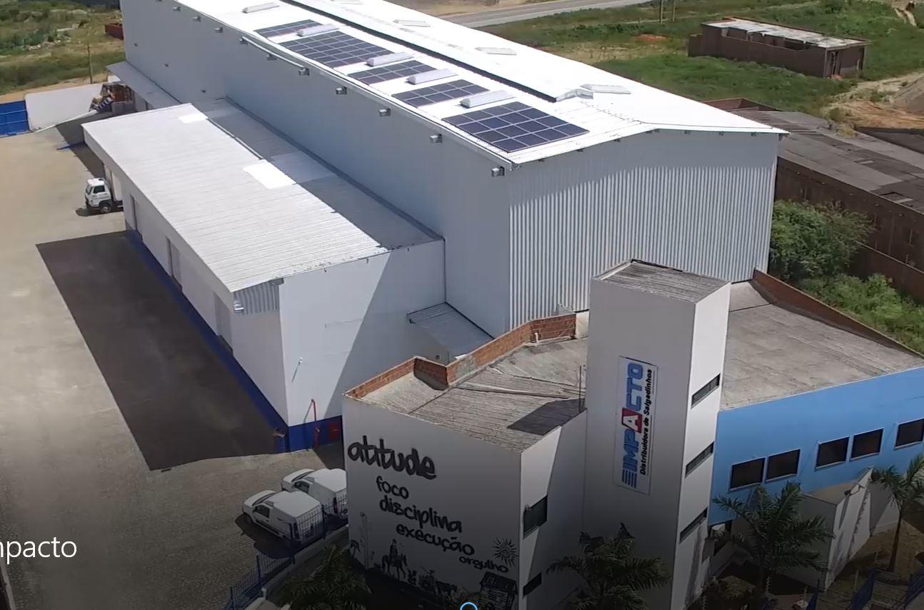 Impacto Distribuidora16,64 kWp Belo Jardim-PE