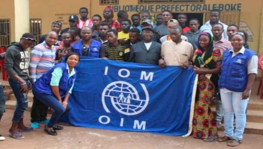 Boké : l'OIM renforce les capacités de réintégration des migrants venus de la libye
