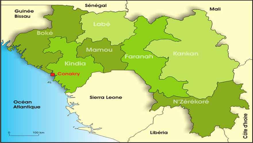 Guinée : Boké, la jeunesse du secteur Tolagui bloque les travaux de la société AUXIN