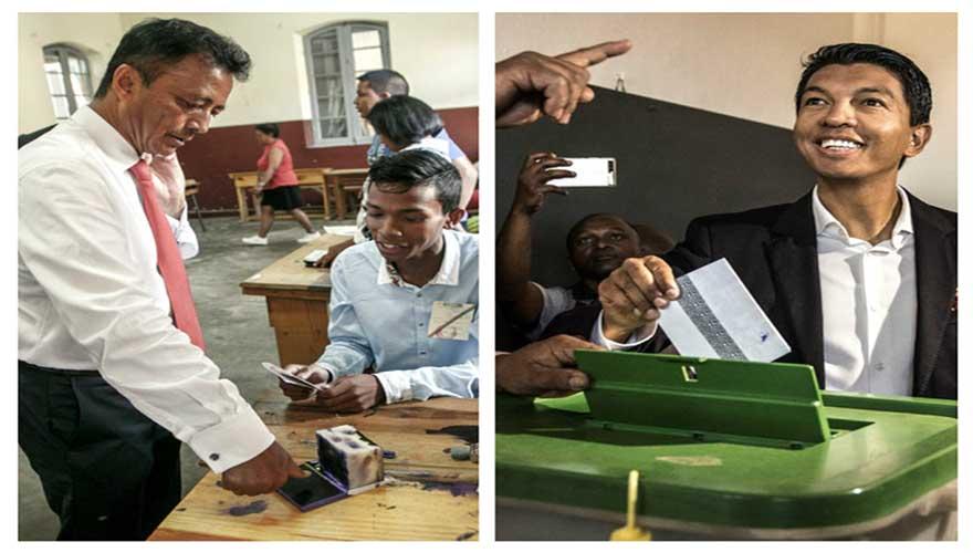 Présidentielle Malgache : Rajoelina et Ravalomanana au Coude à Coude