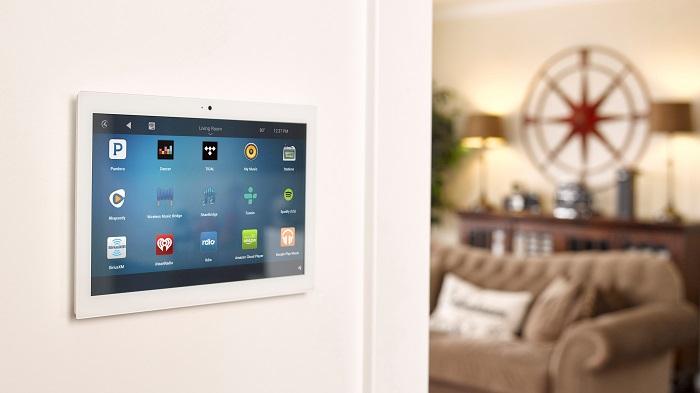 Painel touchscreen para automação residencial