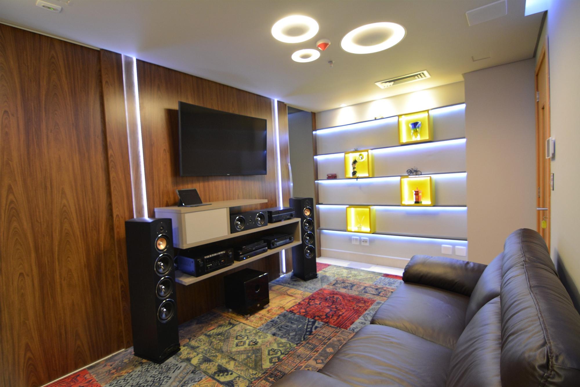 Áudio, vídeo  e home theater