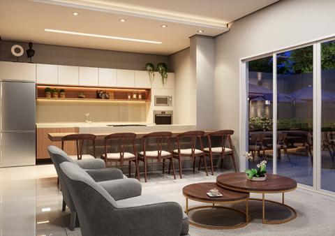 Espaço gourmet | Salão de festas