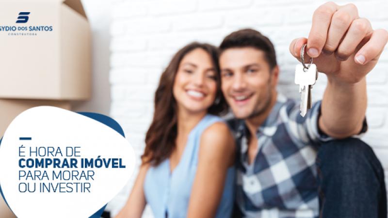 Agora é a hora para você, que esperava um ótimo momento para investir em imóveis.